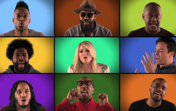Jimmy Fallon & The Roots Acapella Singing Queen – We Are The Champions