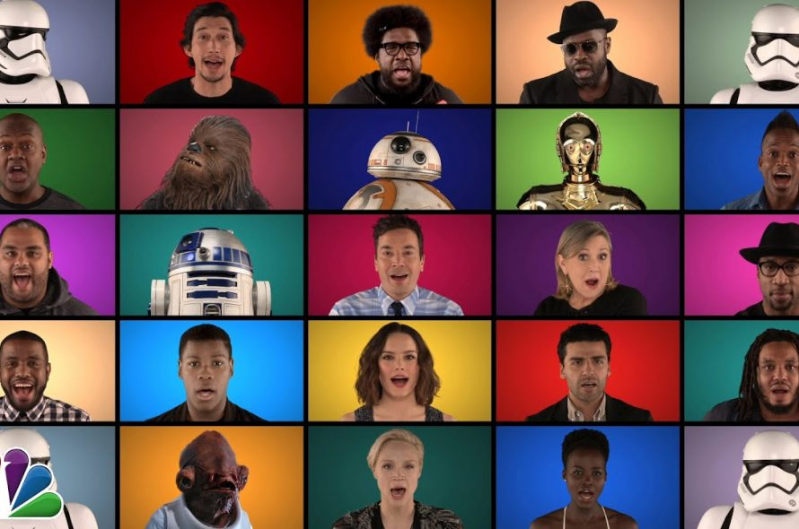 Jimmy Fallon & The Roots – Star Wars